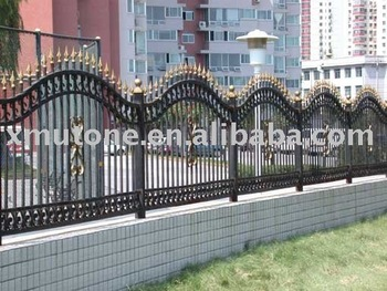 Attirant Decorative Metal Garden Fence