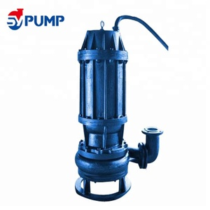 Centrifugal sewage submersible slurry water pump