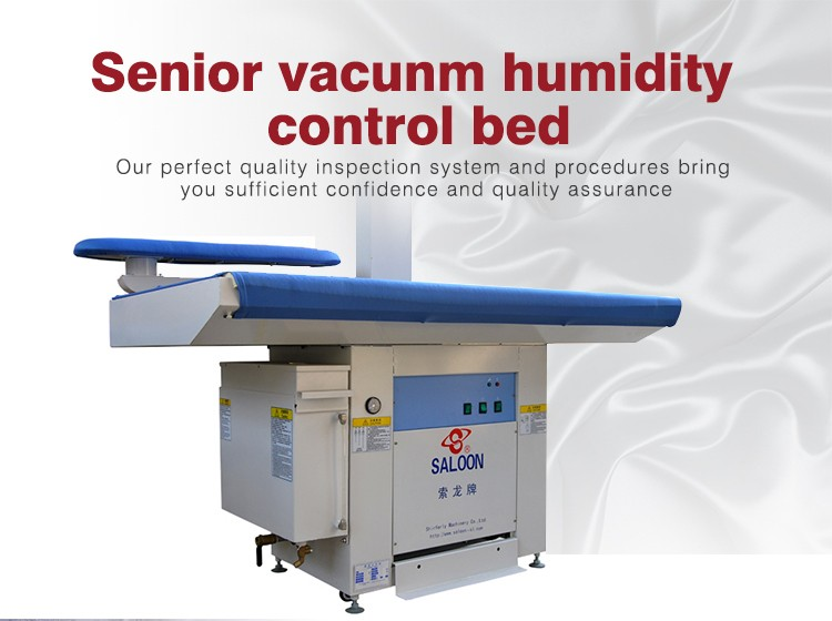 Steel with 1 Buck Working Area 1520*780mm Fabric Vacuum Ironing Table