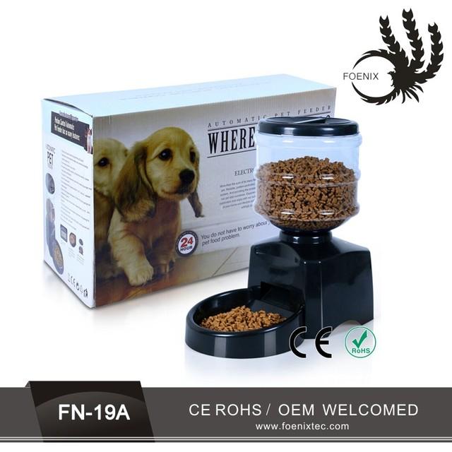 dog slow bowl healthy feeding 3 meals lcd 5l automatic pet feeder