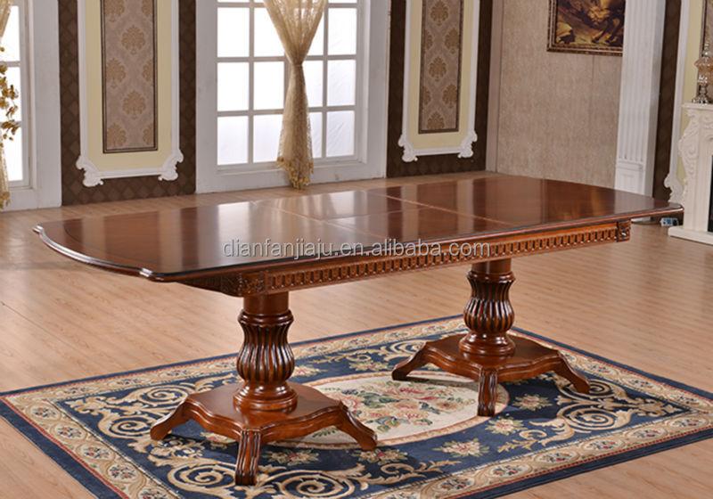 Moderna mesa de comedor de madera y sillas para comedor for Mesas y sillas de madera para comedor