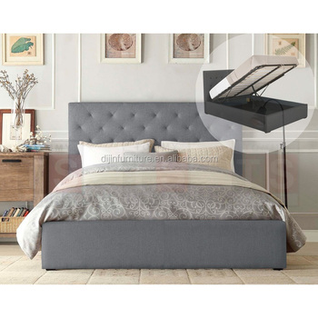 . Latest Double Bed Designs Modern Furniture Storage Fabric Bed   Buy Double  Bed With Storage Modern Bed Designs Latest Design Fabric Bed Product on