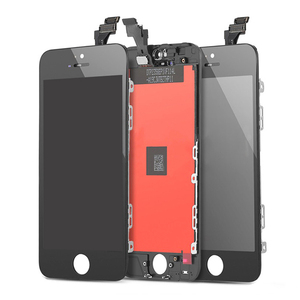 Cell phone parts replacement LCD display touch screen digitizer assembly for IPhone 5 black white