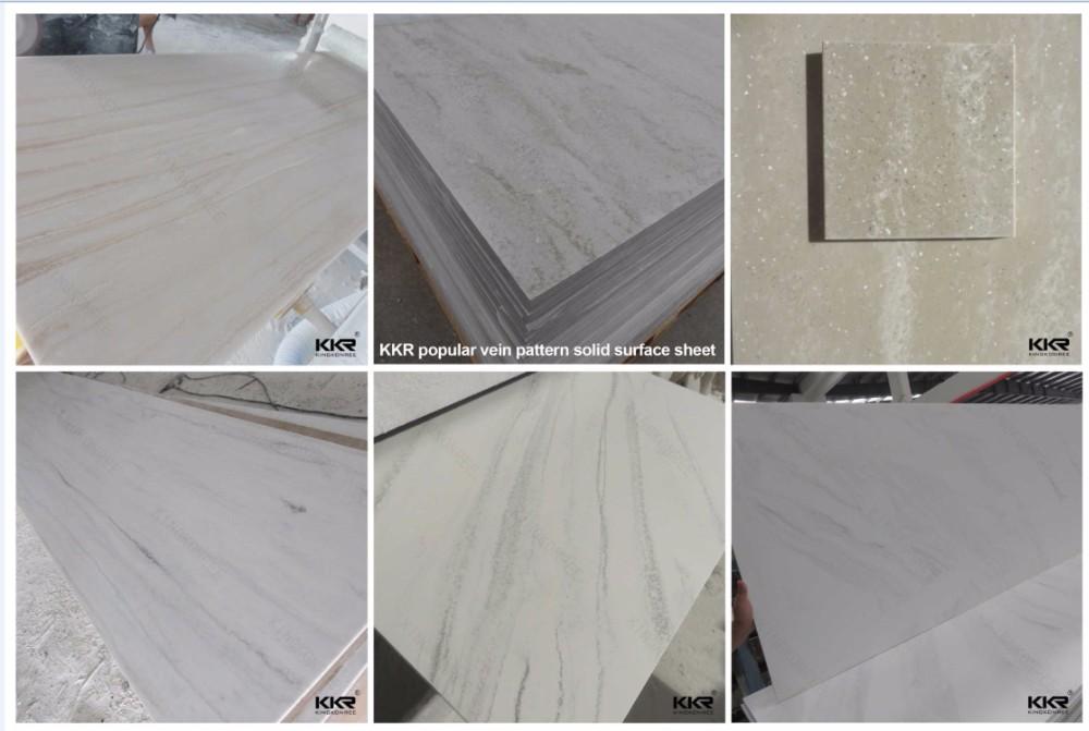 Solid Surface Badkamer : Waterbestendigheid acryl solid surface badkamer douche muur