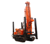 HQZ300L Pneumatic Crawler Water well drill rig Pneumatic Rock Drill rig