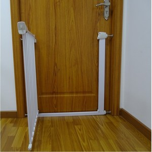 New Pressure Mounted Double Lock Extendable Safety Gate For Baby