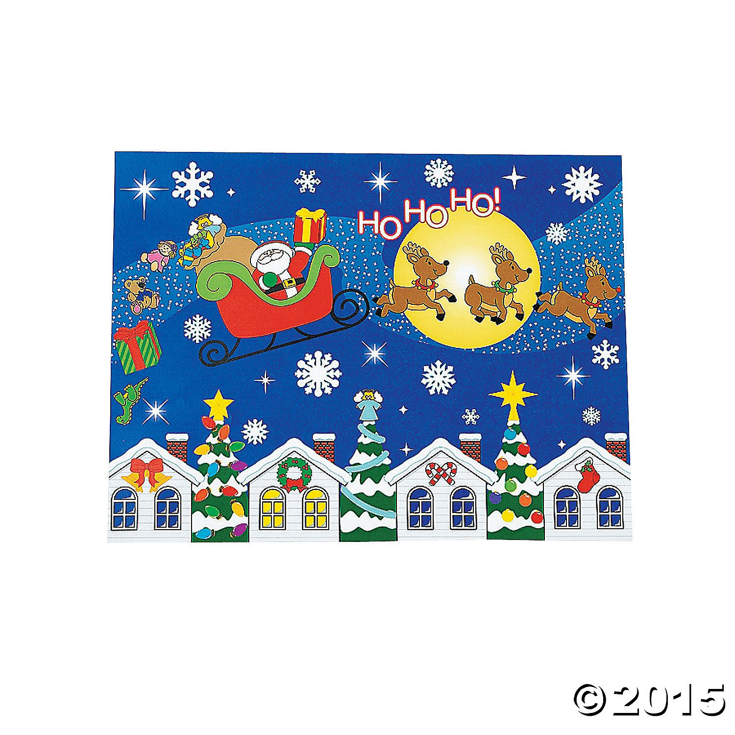 Get quotations · design your own merry christmas to all sticker scenes stickers labels sticker scenes