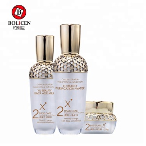 Private label refreshing hyaluronic acid serum anti-aging moisturizing whitening korean skin care products set skin care