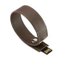 High quality hot sale oem wearable usb flash drive leather bracelet pendrive