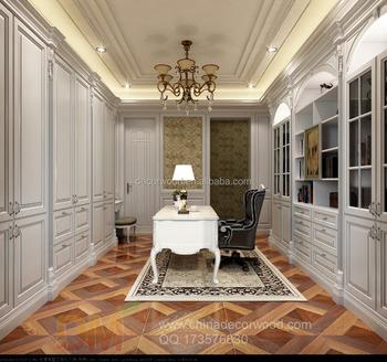 White Classical Study Room Interior Design 3d Drawings Buy 3d Rendering Drawing Study Room Designer White Classical Design Product On Alibaba Com