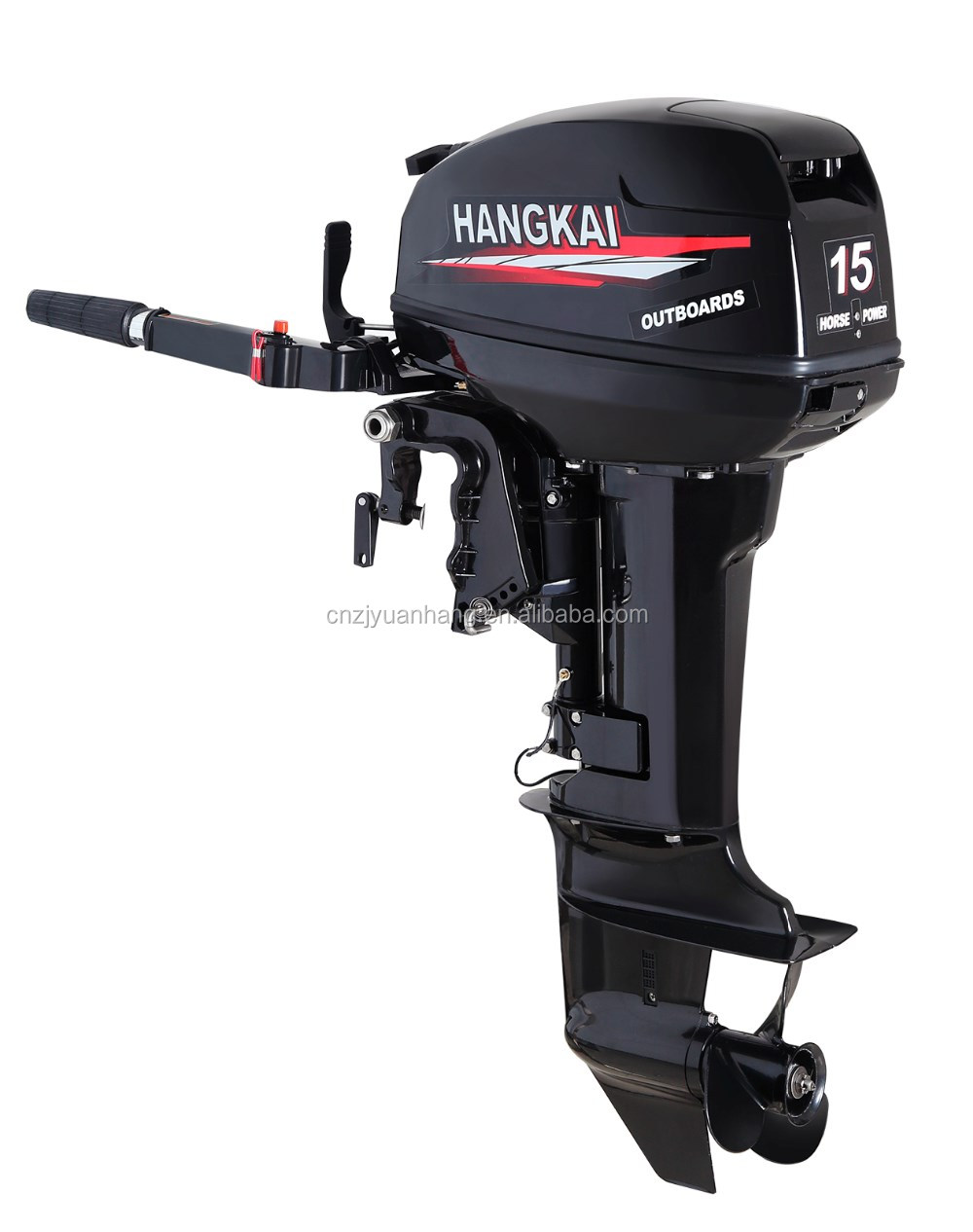 Short Shaft 2 Stroke 15hp Outboard Motor For Inflatable