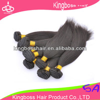 2016 new arrival hot sale virgin human hair weave no processed by chemical