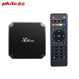 Wholesale X96 mini ota update x96 smart tv box 4K Android 7 1 1g 8g and 2g  16g