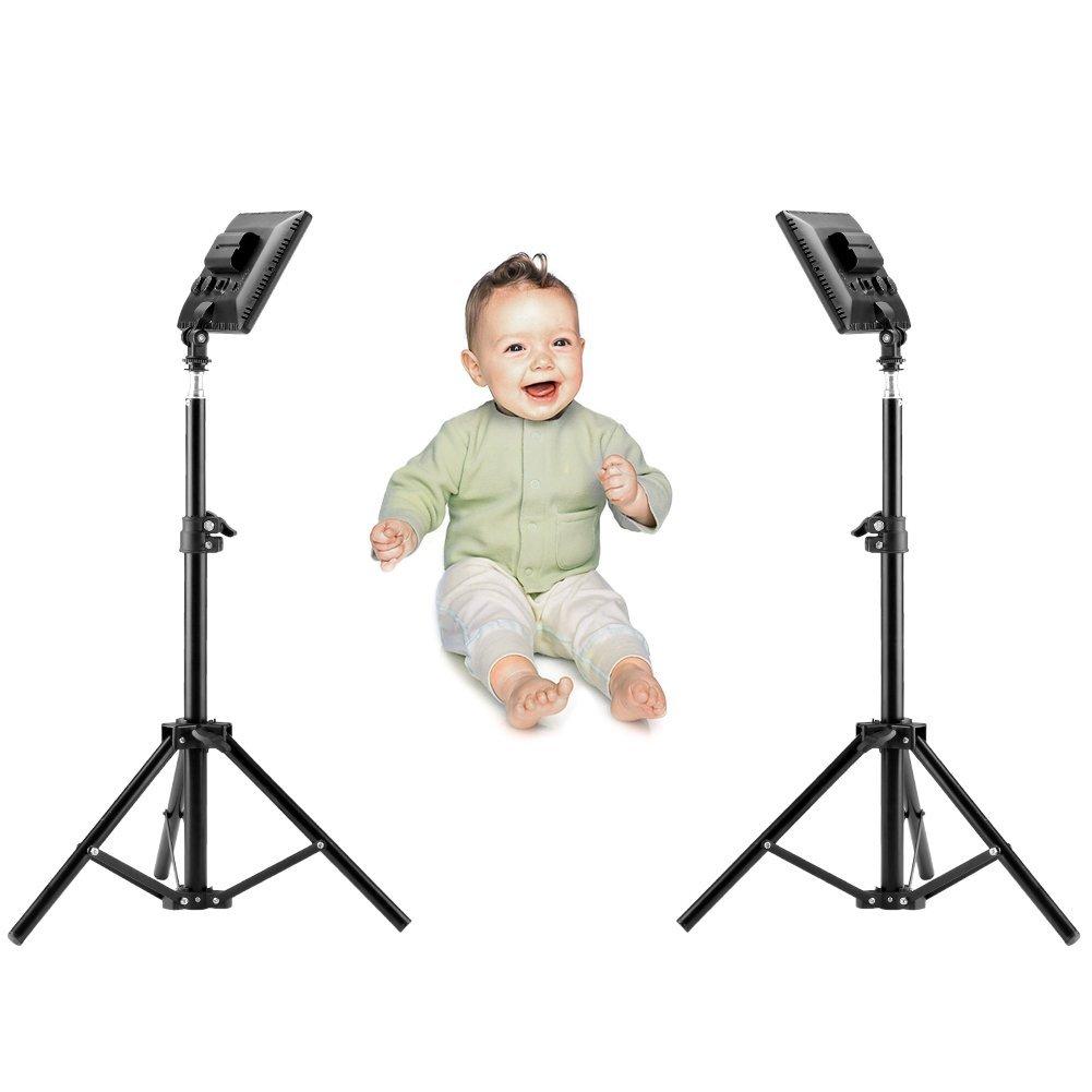 "Bestlight 0.6""/1.5cm Ultra-Thin BLPad-22 112-LED 12W 5600K/3200K LED Video Light Dimmable Flat Panel On-camera Light Pad Kit for Canon Nikon Pentax Olympus Samsung JVC DSLR Cameras DV Camcorders"
