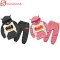 kids boys hoodies sweatshirts for girls autumn winter baby children batman coat set cute superhero hoodie