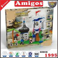 novelty education building block toys empire castle 190 pcs toy connecting building blocks