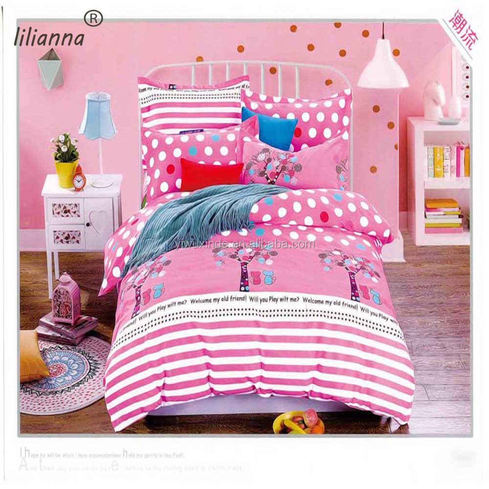 Good Quality Microfiber Fabric Baby Kid Organic Printing Bed Sheets