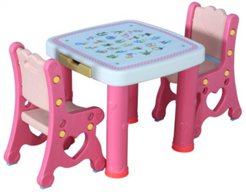 2017 Kids Plastic Table Moon Model Table/cheap Kids School Plastic Tables  And Chairs