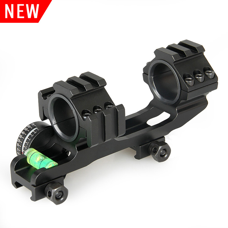 Hunting double ring rifle scope mount Hunting sight mount with bubble level laser scope mount HK24-0188
