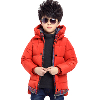 China wholesale latest fashion Zipper Jackets winter kids hooded coat