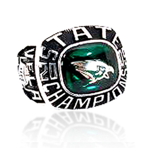 Wholesale stainless steel philadelphia eagle championship ring