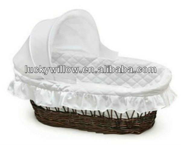 willow baby basket baby carry basket moses basket