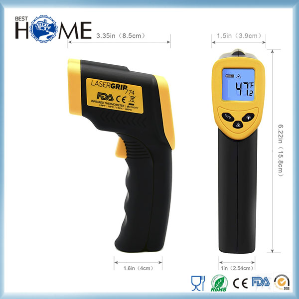 Non-contact Digital Laser Infrared Thermometer