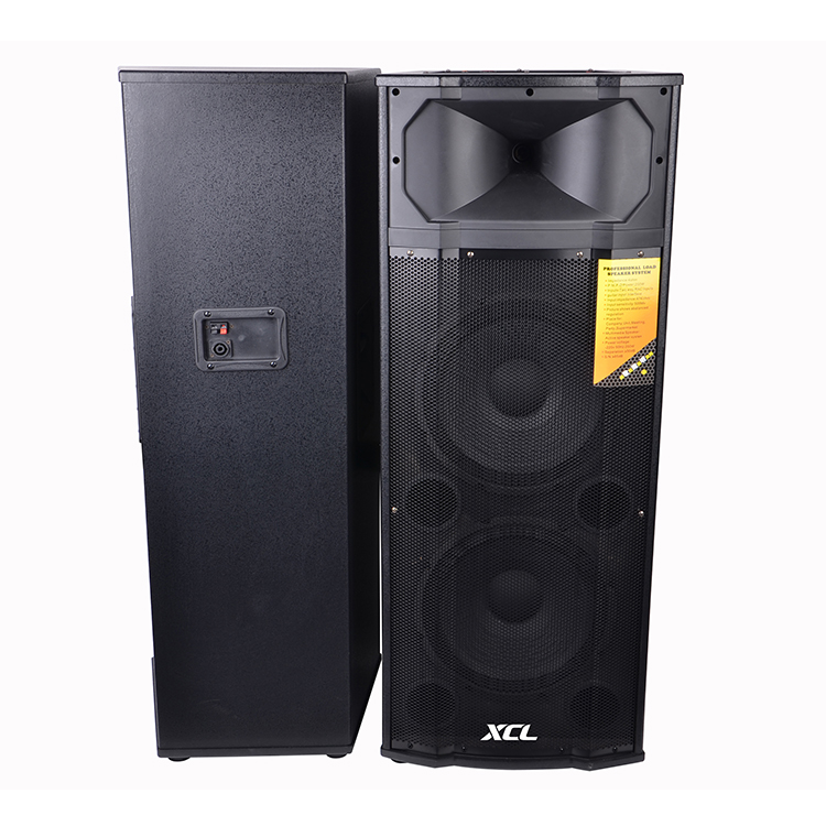 2.0 active stage speaker outdoor DJ audio system for sale