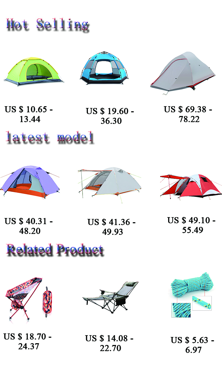 HWZ1608 Luxury Canvas Portable 1 Person Camping Beach Foldable Lightweight Tent China Tents Camping Outdoor Waterproof PU 4000mm