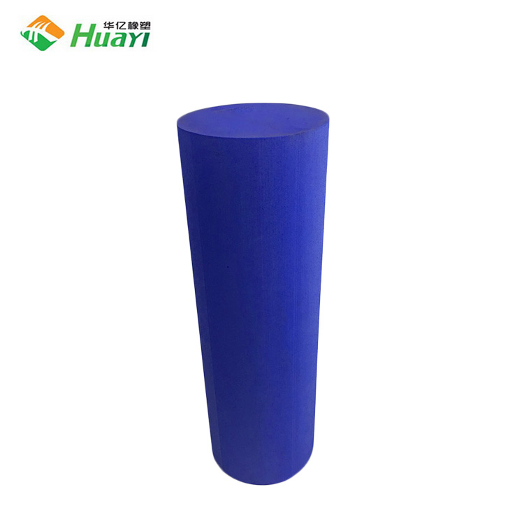 Factory direct supply solid EVA rubber massage yoga exercise foam roller