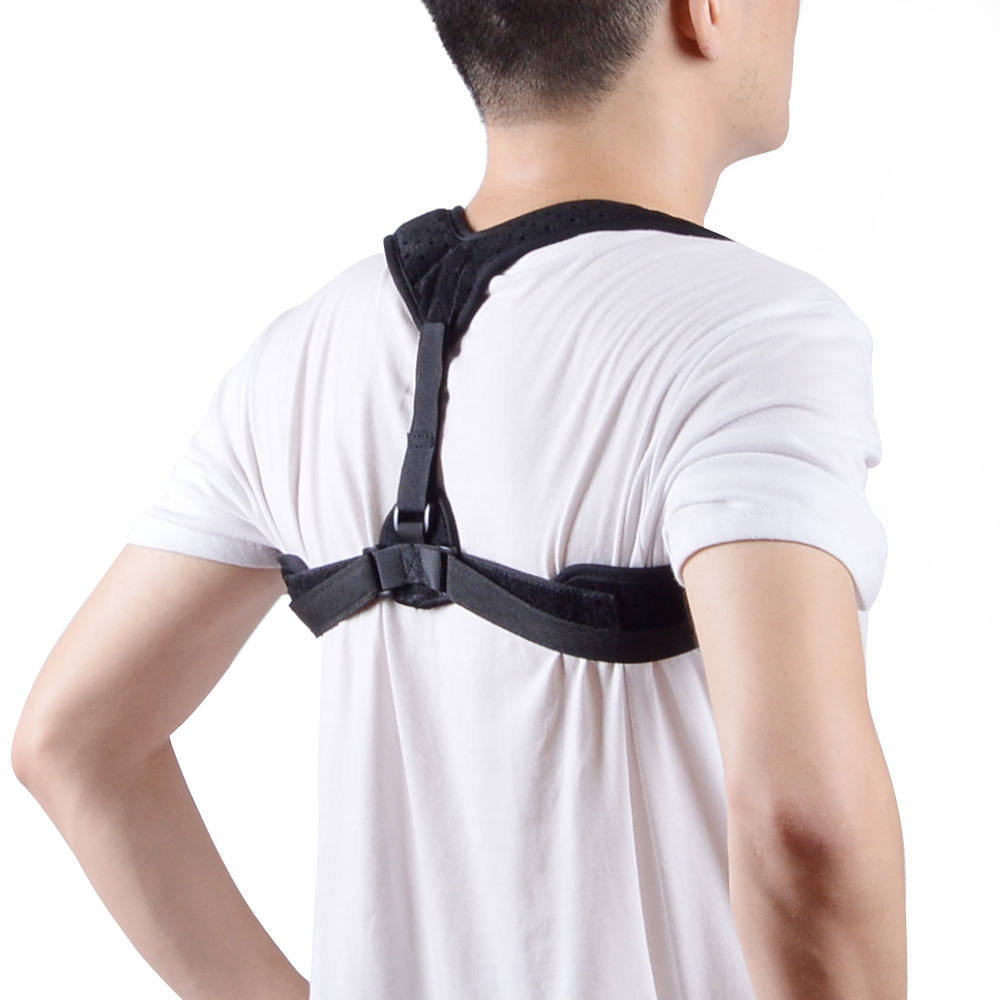 Back Support Posture Corrector Brace Trainer Men Women Shoulder