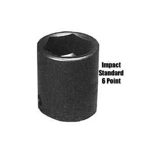 "K Tool International 1/2"" Drive Standard 6 Point Impact Socket 1 5/16"" (KTI33142) Category: Sockets"
