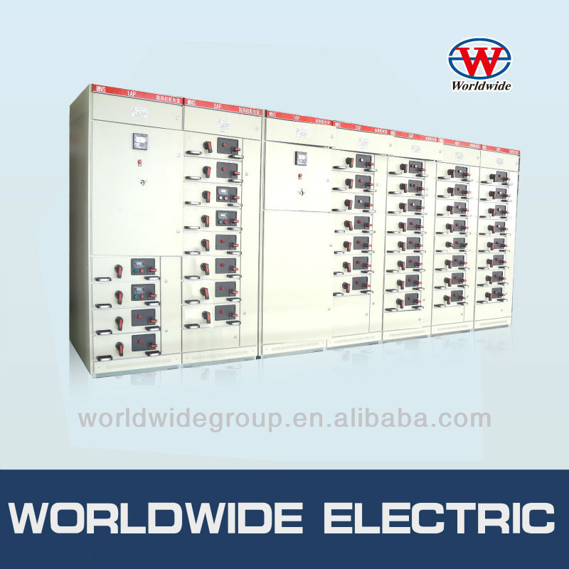 MNS indoor type AC low voltage electrical switchgear