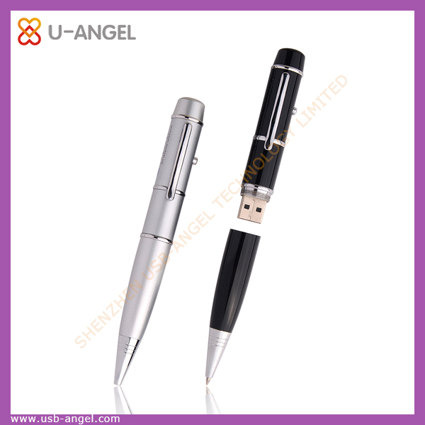 Christmas 2G pen USB disk,Ballpoint pen model USB 2.0 Memory Stick Flash pen Drive 4GB