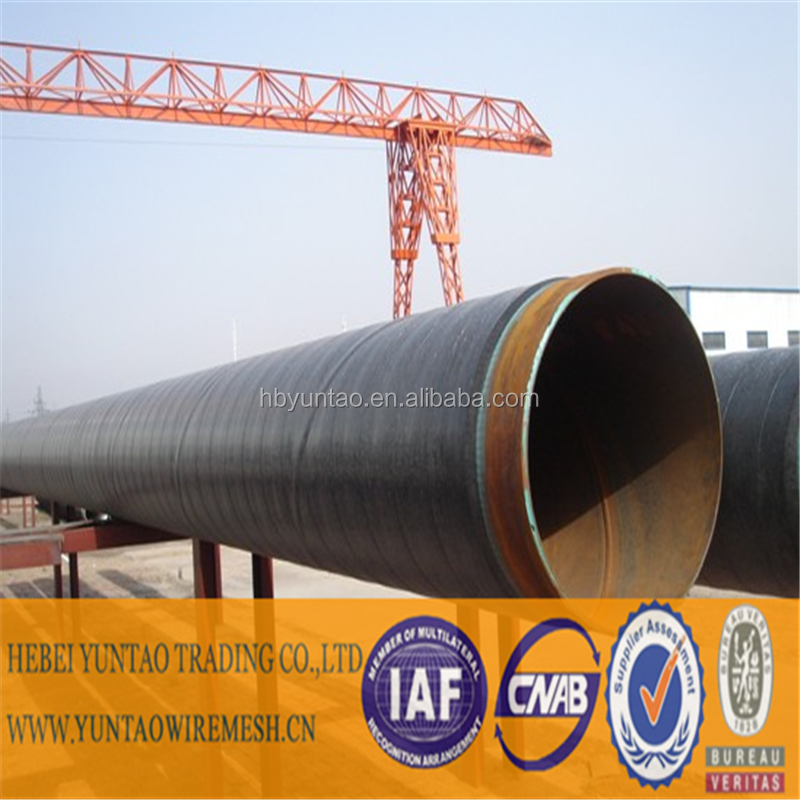 corrosion-resistant FBE epoxy+ AD + polyethylene coating steel pipe