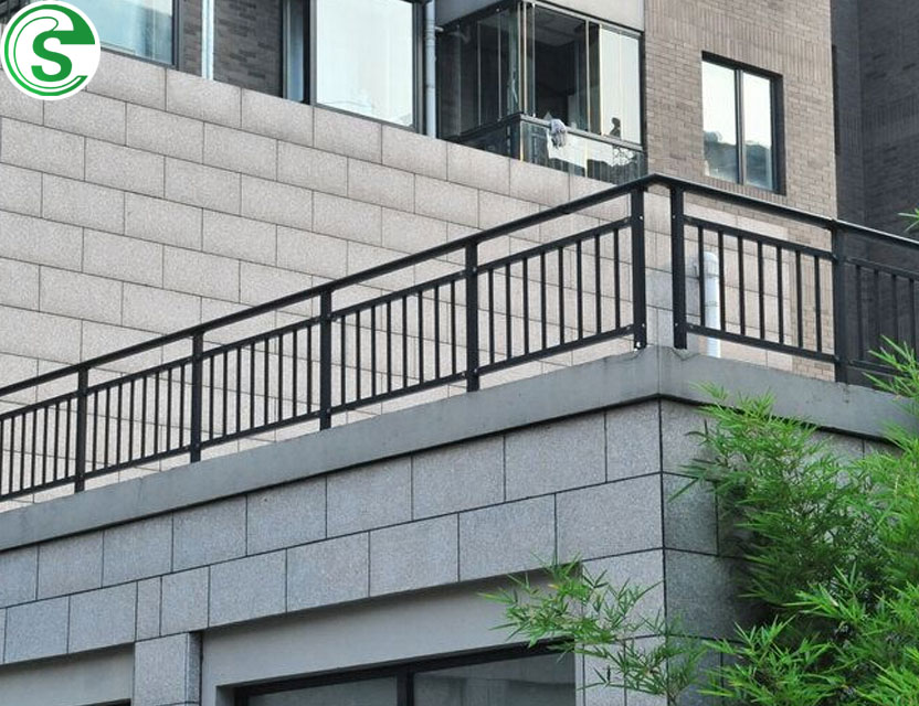 Terrace Railing Designs Balcony Handrail Steel Galvanized Veranda Handrails Porch Product On Alibaba