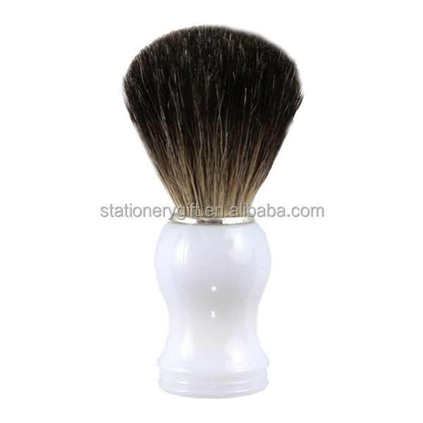2016 EVAL shaving brush for men's personal care with white handle