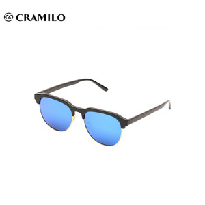 Fashion half-rim top quality sunglasses wholesale