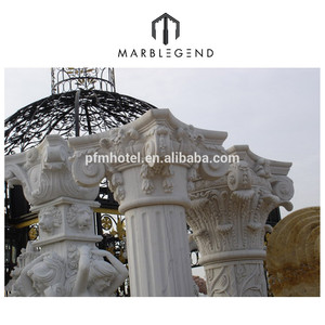 Interior and exterior decorative stone columns roman pillars