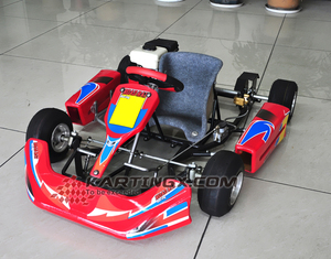 4 wheel one seat chain drive kids gas go kart/racing go kart/mini ATV for sale