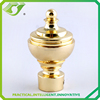 D-F0367 luxury style curtain rod finials / drapery curtain pipe finials