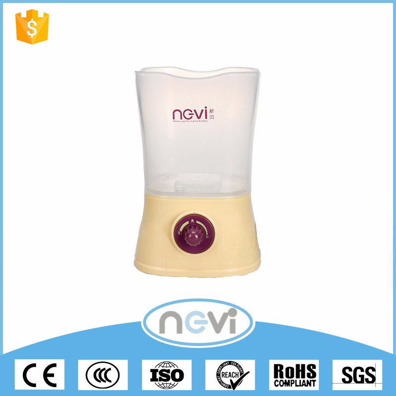 Hot Sale Optional Color Safety Electric Milk Food Battery Portable Bottle Warmer With Color Box