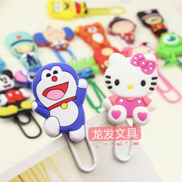 2017 hot selling cartoon cute animal shape paper <strong>clip</strong> ,High quality factory price metal paper <strong>clip</strong> for school 4pcs/set