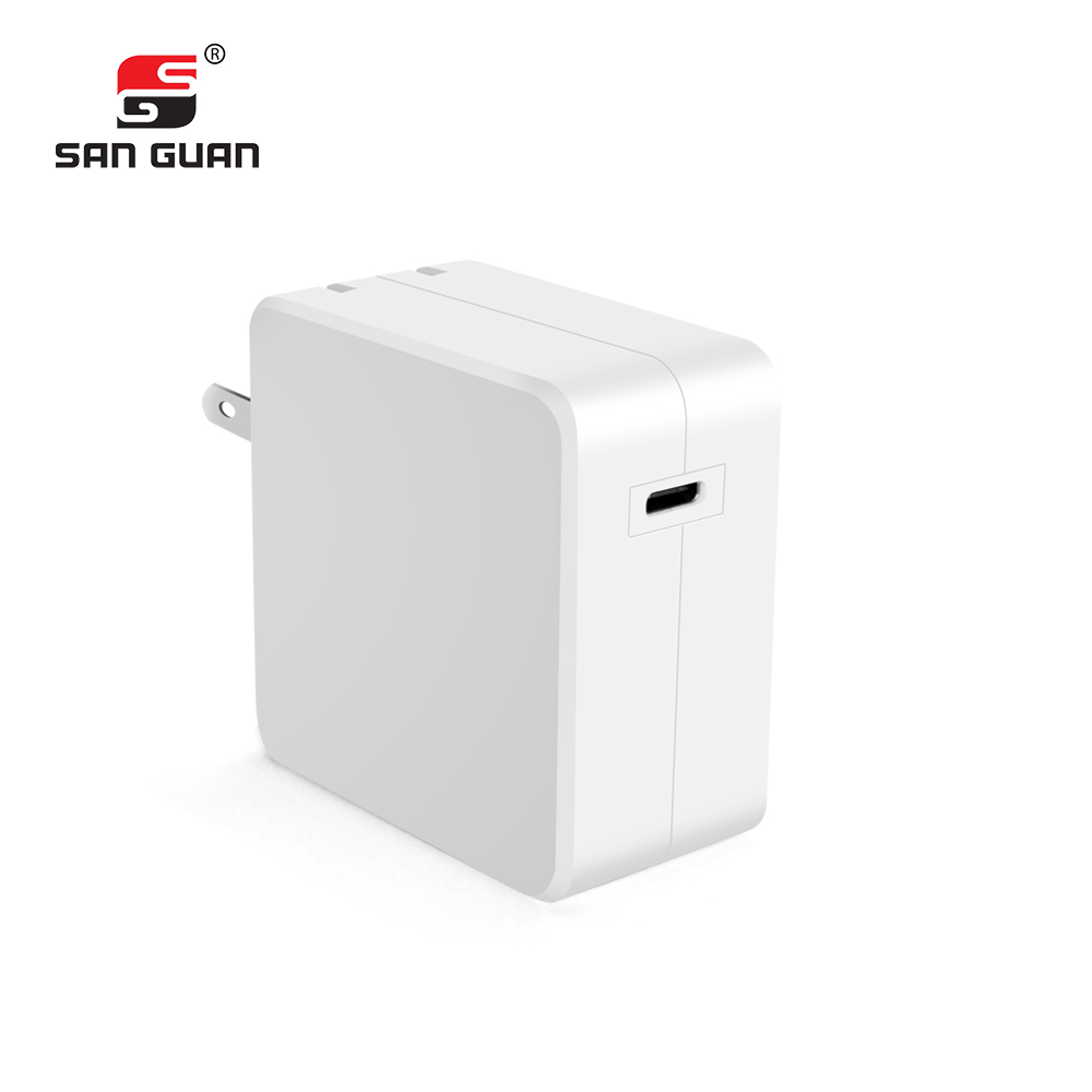 Mobile/Laptop usb type c charger amazon with usb c female port wall charger 29W for fast charging.