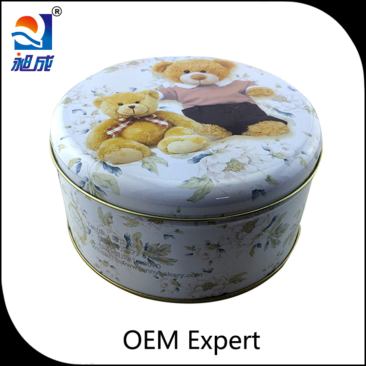 changcheng Metal candy tin box for canning candies or chocolate