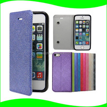 latest 5g mobile phone Accessories Flip Leather Case For iphone 5,For Iphone 5 Case