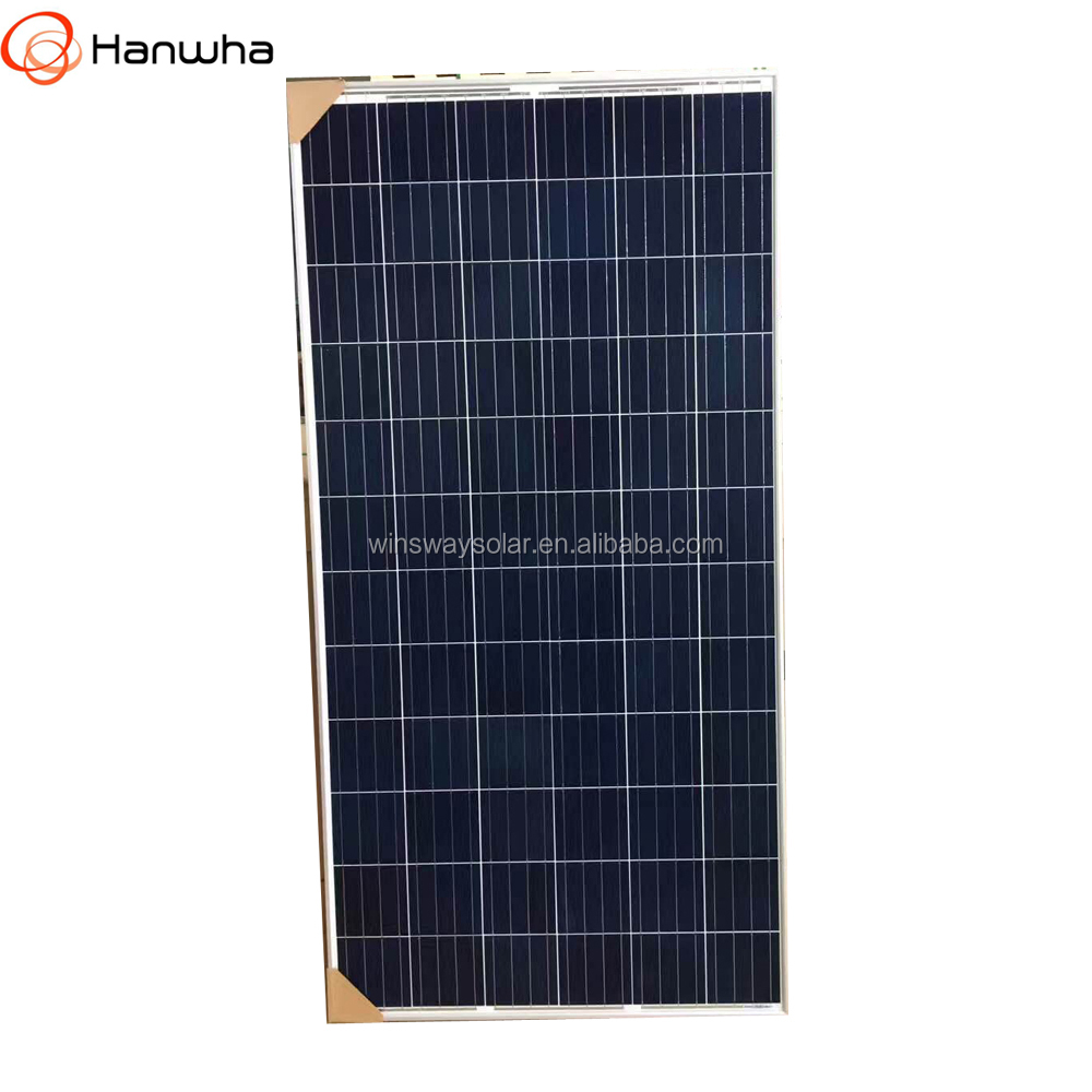 Hanwha 72-cell strongest solar modules designed for large solar power plants