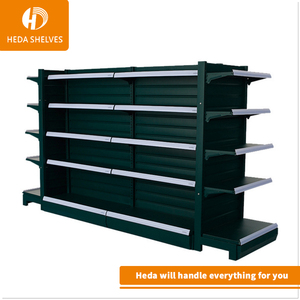 Shop display commercial stainless steel used supermarket shelves for sale