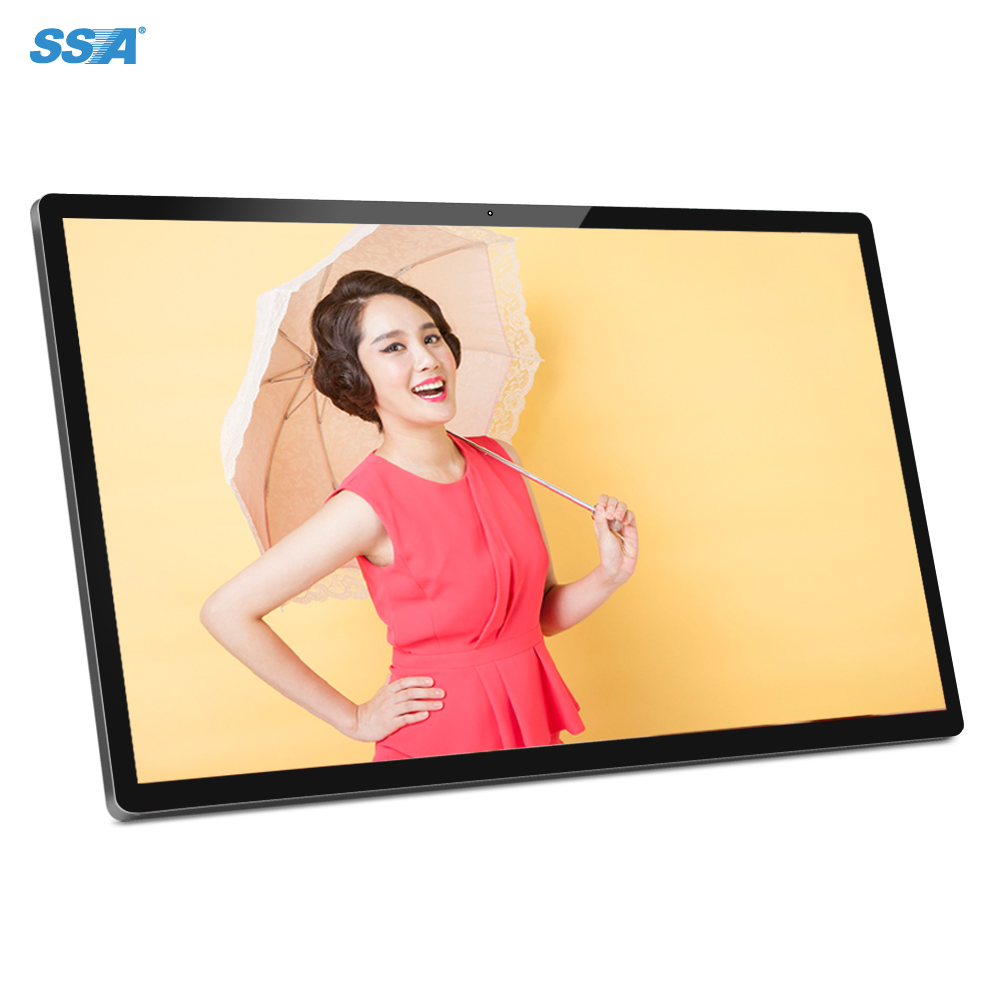 Player Display Medium Android Advertising Touch Screen Wifi Lcd Wall Mounted 55 Inch <strong>Digital</strong> Signage