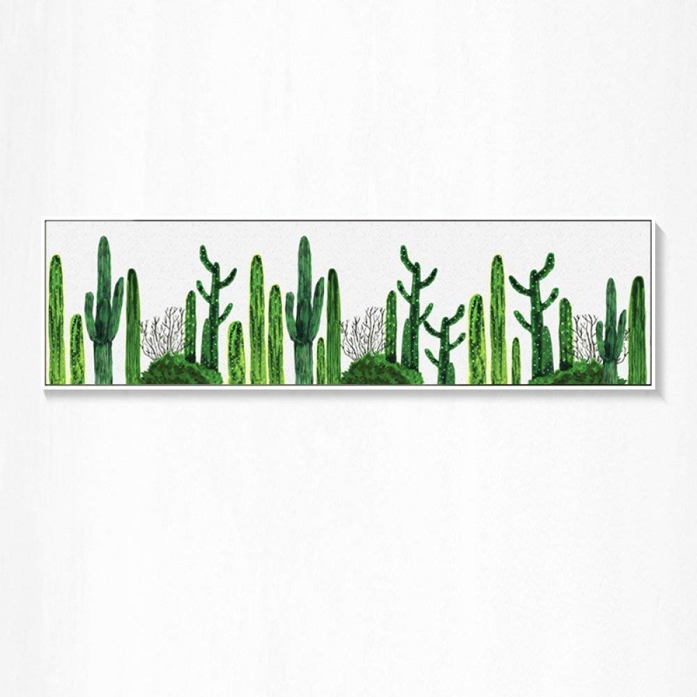 STTS Nordic Modern Minimalist murals, Small Fresh Cactus Living Room Decorative Painting, Hotel Hotel Resort Bedroom Bedside Painting